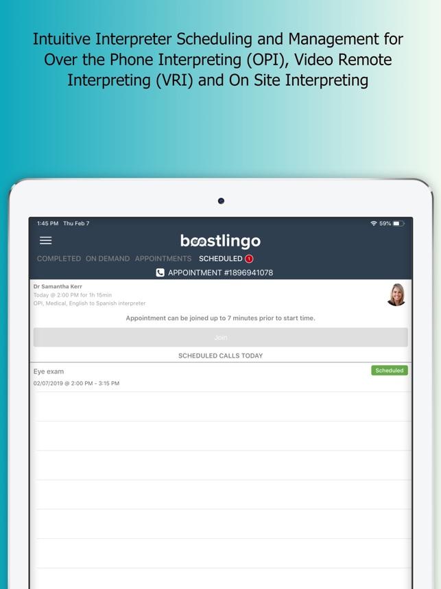 BoostLingo Interpreter on the App Store