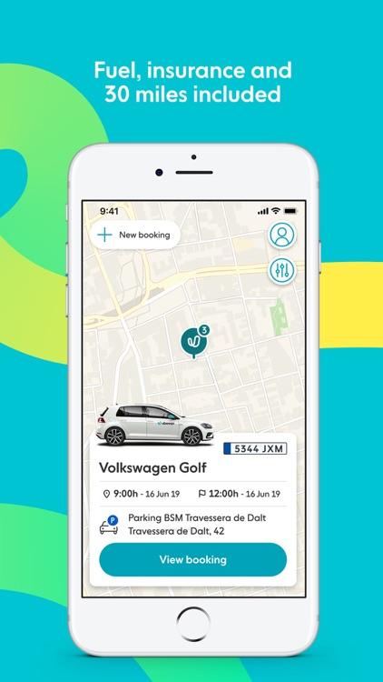 Ubeeqo Carsharing App screenshot-3