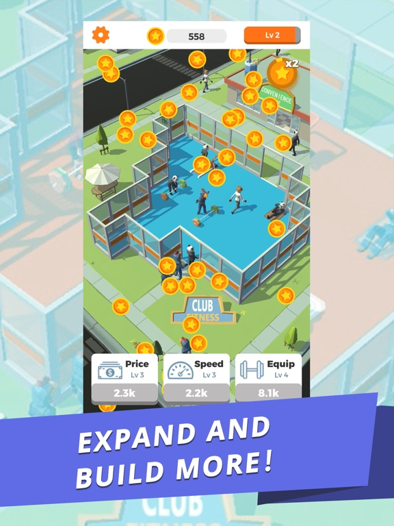 Idle Gym - Fitness Simulation screenshot 8