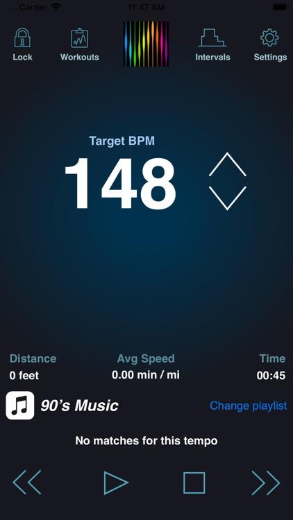 PaceDJ: BPM Running Music screenshot-0