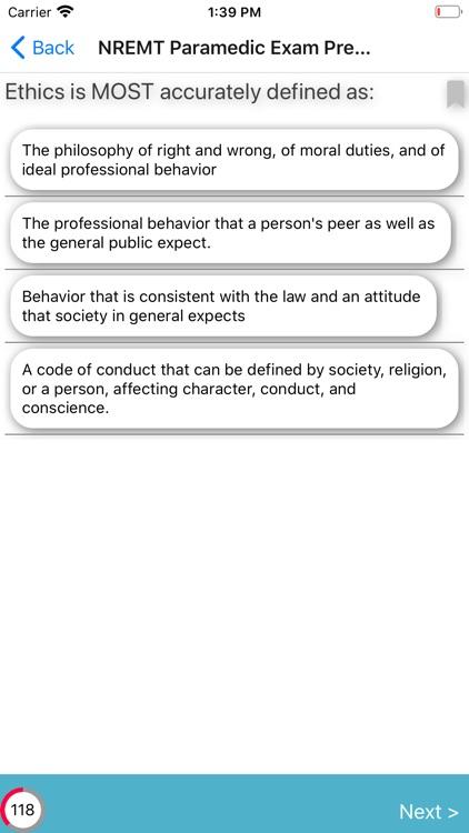 NREMT Paramedic Exam Review screenshot-3