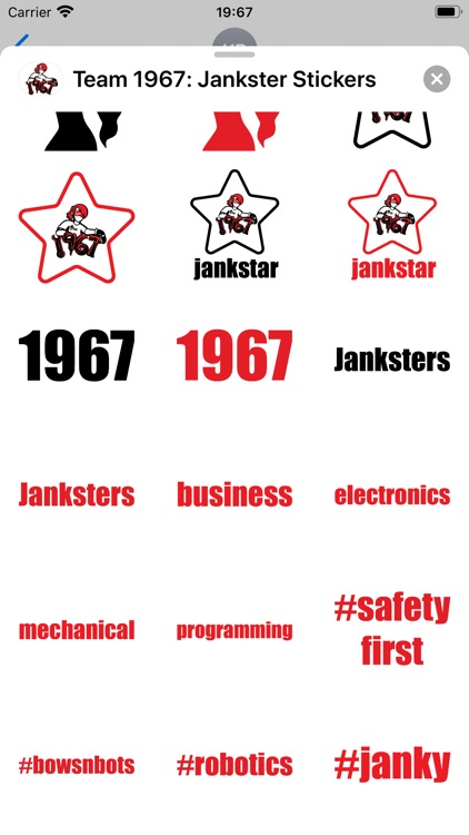 Team 1967: Jankster Stickers screenshot-4
