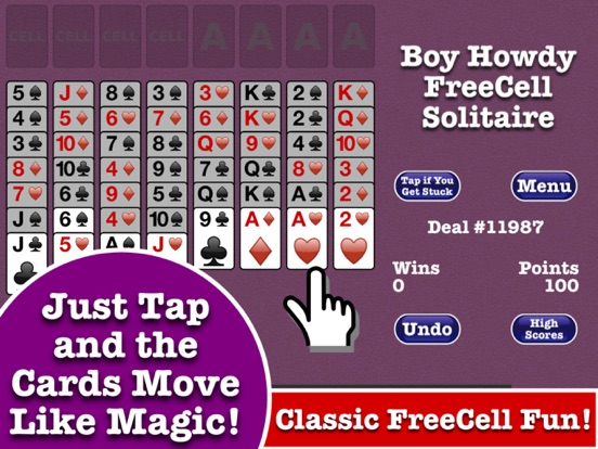 FreeCell Solitaire – Boy Howdy Technology