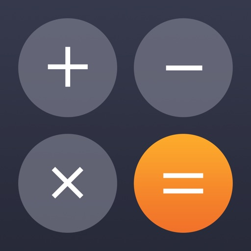 Calculator' free software for iPhone and iPad