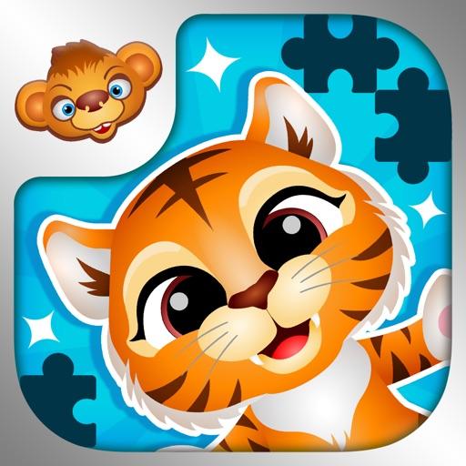 123 Kids Fun Puzzle Blue Games