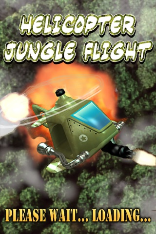 Helicopter Jungle Flight LT - náhled