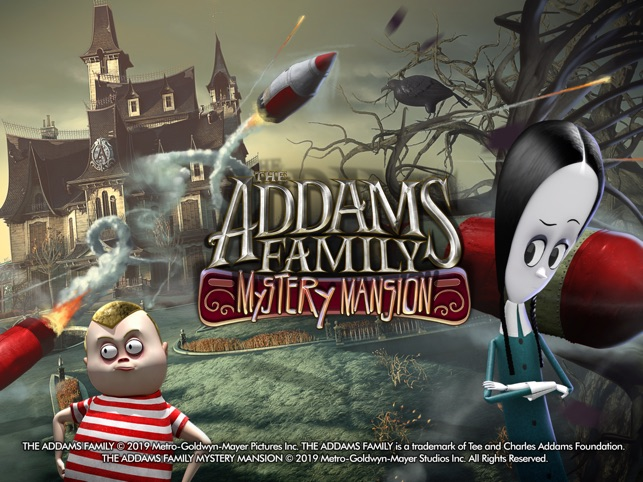 ‎Addams Family Mystery Mansion Screenshot