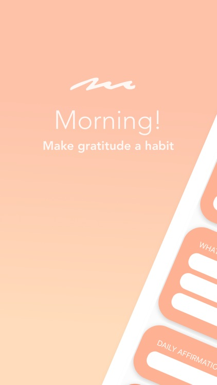 Morning! - A 5 Minute Journal