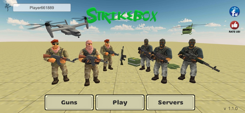 StrikeBox: Sandbox&Shooter Cheat Codes