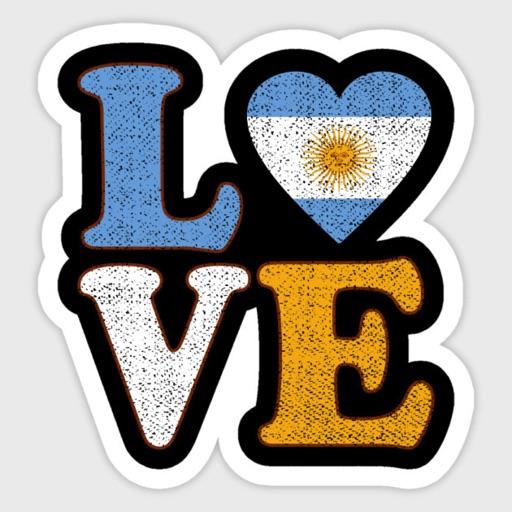 Argentina Meme Stickers By Xyslab