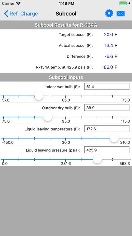 HVAC RefCharge screenshot-9