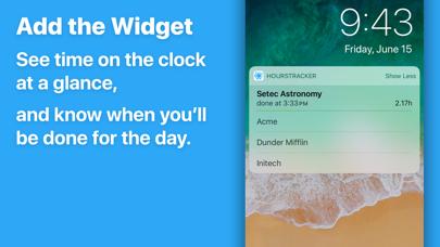 HoursTracker: Hours & Pay Screenshot