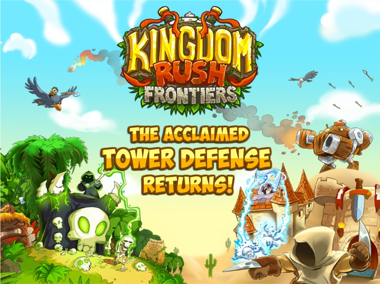Kingdom Rush Frontiers HD screenshot-0
