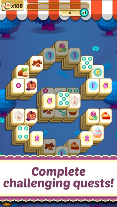 Mahjong Cupcake Bakery Puzzle for windows pc