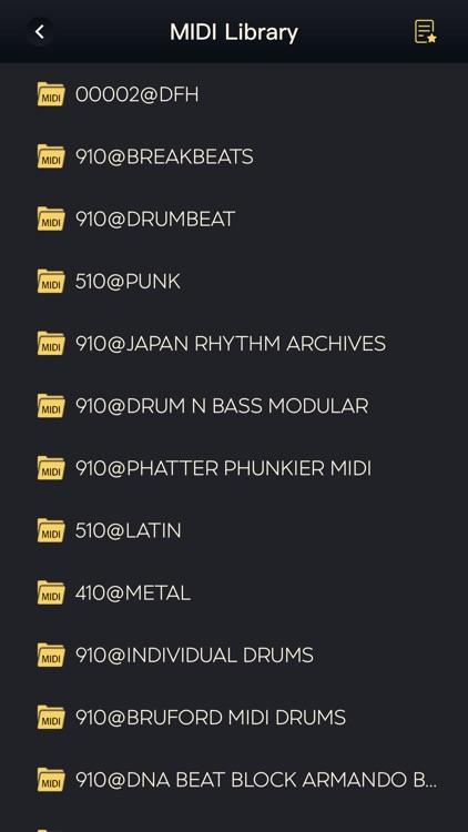 pro metronome - tempo beats screenshot-5