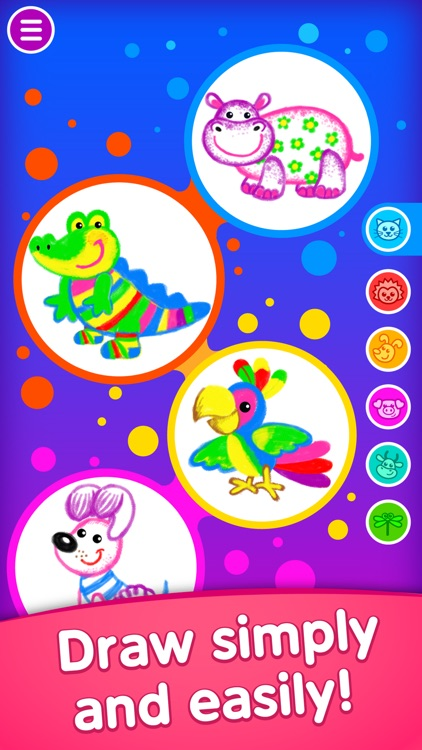 Drawing Educational Kids Games screenshot-0