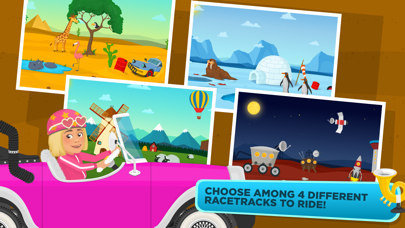 Racing Car Game for children screenshot three
