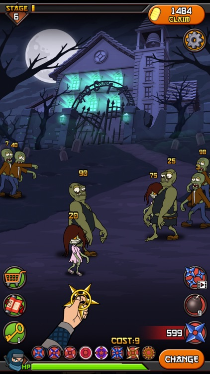 Zombies vs Ninja screenshot-2