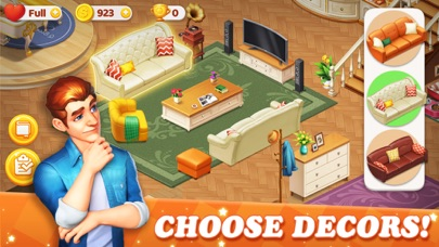 Dream Home Match 3 Puzzles Gam screenshot 2