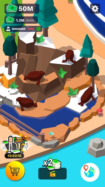 Idle Zoo Tycoon 3D screenshot-5