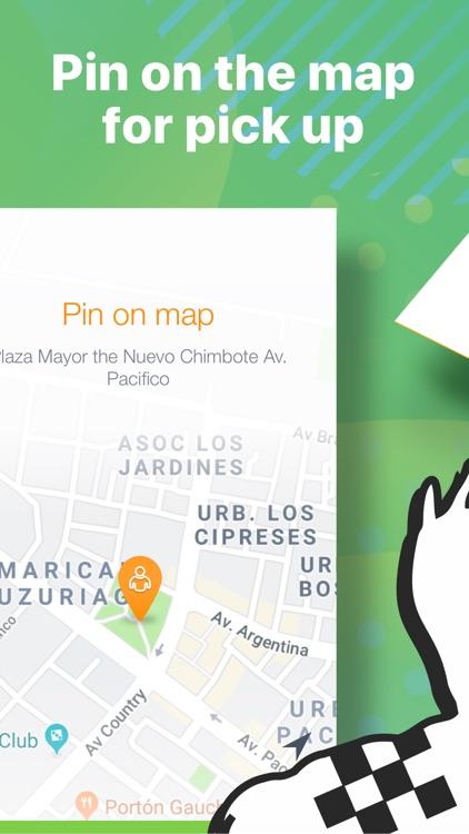 Carry: order taxi in Peru