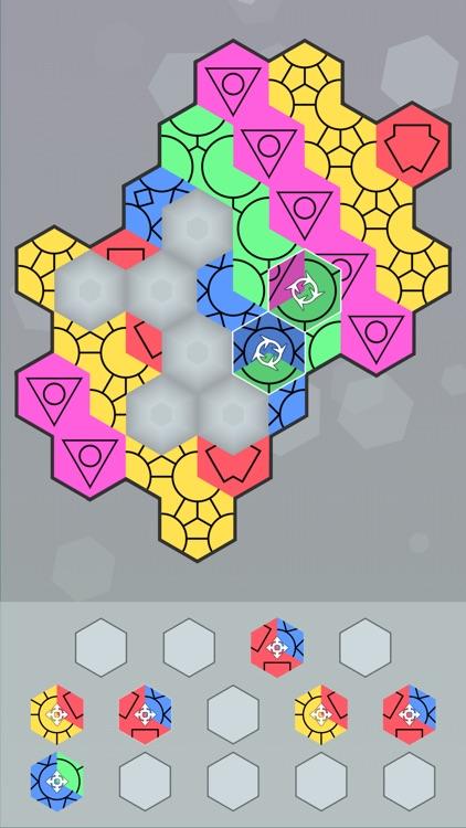 Aurora Hex - Pattern Puzzles screenshot-8