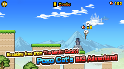 Go! Go! Pogo Cat screenshot 1
