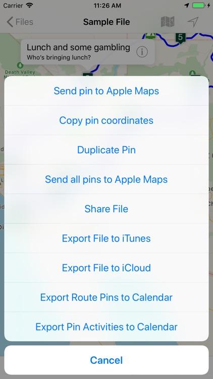 Road Trip Planner Viewer screenshot-8