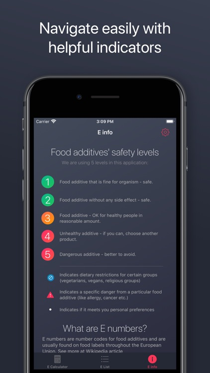 Food Additives Checker screenshot-4
