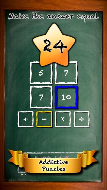 Fun Math - Simple Make 24 Game