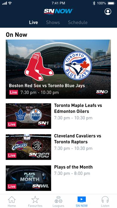 Screenshot for Sportsnet in Canada App Store