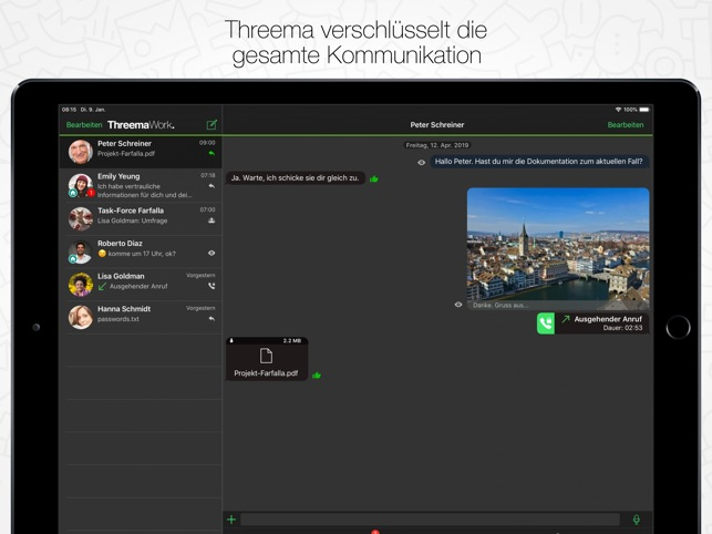 Threema Work Screenshot