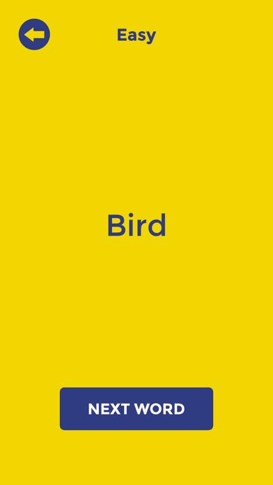 Random Word Generator Cards screenshot 2