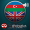 App Icon for iPolyglot Azerbaijani English App in Azerbaijan IOS App Store