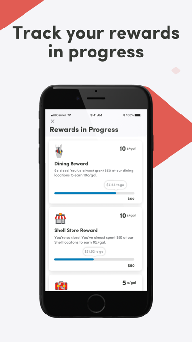 iPad Image of Fuel Rewards program