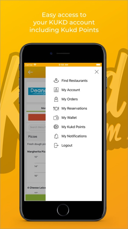 KUKD - Takeaway Food Delivery screenshot-4