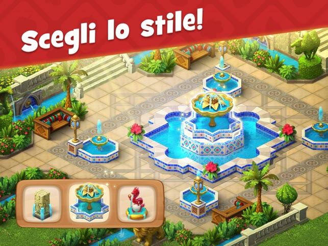 Gardenscapes gratis italiano scaricare