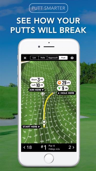 GolfLogix GPS + Putt Line Screenshot