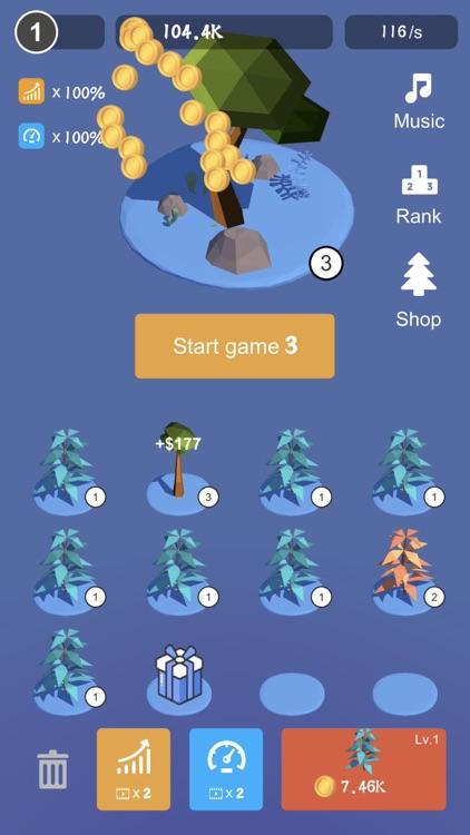 Tree Plant - Best Merge Games screenshot-0