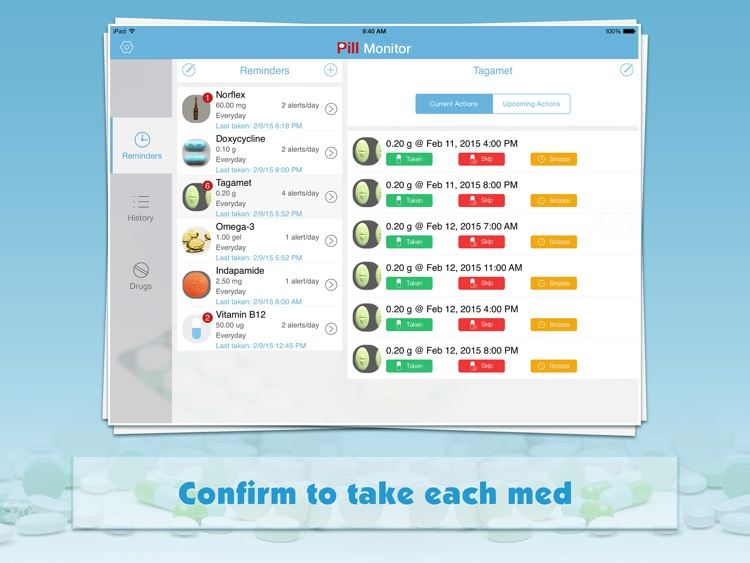 Pill Monitor for iPad screenshot-0