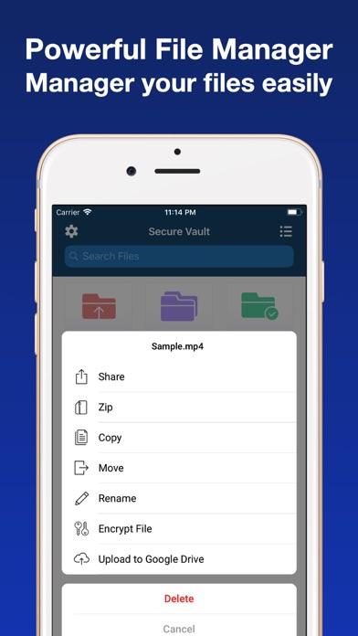 messages.download VAULT - Browser & File Manager software