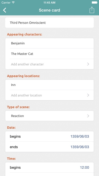 Story Planner for Writers screenshot-3
