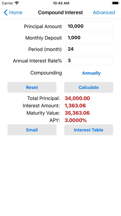 EZ Financial Calculators Pro screenshot-6