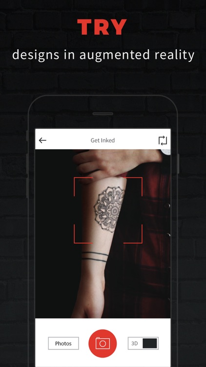 INKHUNTER PRO Tattoos try on