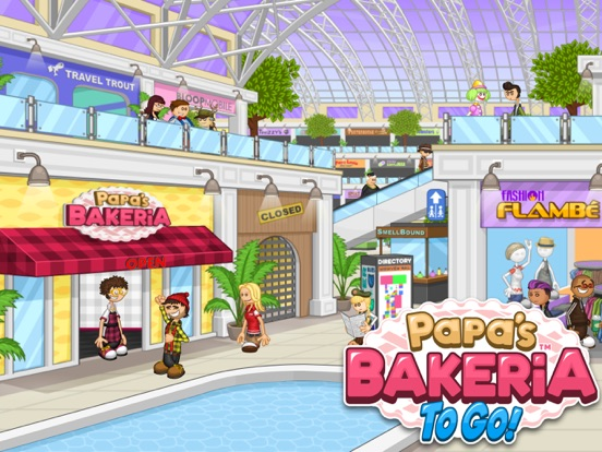 Papa's Bakeria To Go! screenshot 6