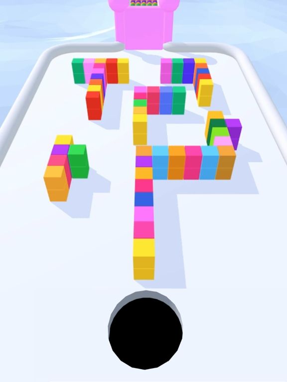 Игра Color Hole 3D