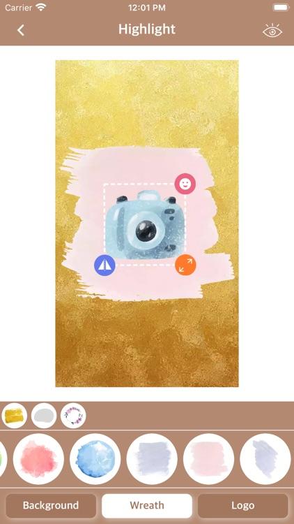 Highlight - Story Cover Maker screenshot-4