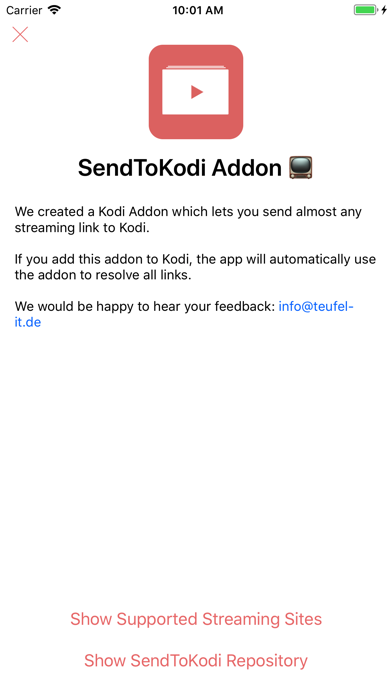 Tải về SendToKodi cho Pc
