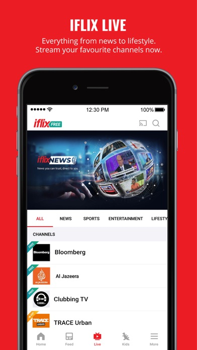 Unduh iflix: Movies, TV Series, News pada Pc