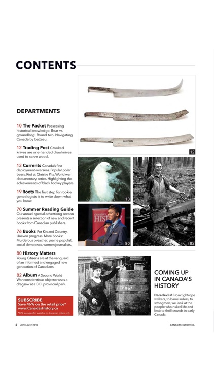 Canada's History Magazine screenshot-2